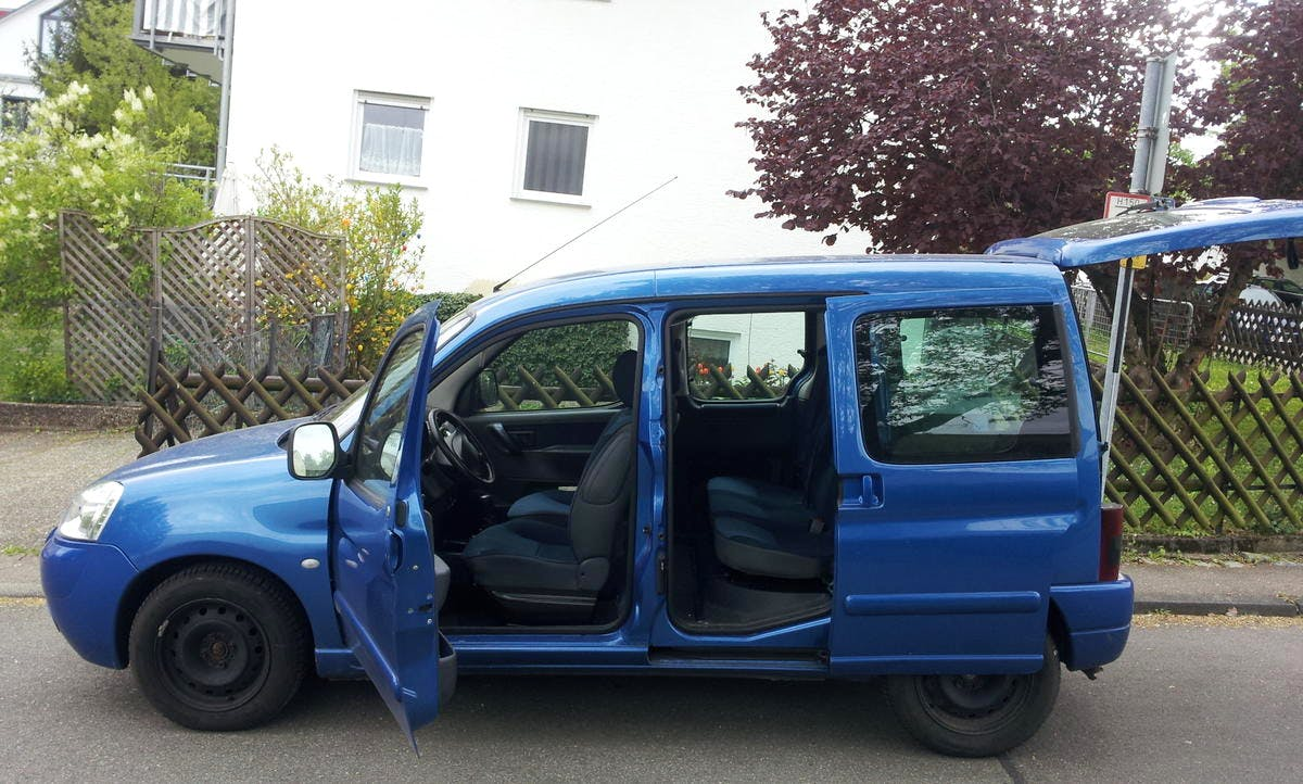 Citroën Berlingo Kasten mit CD-Player