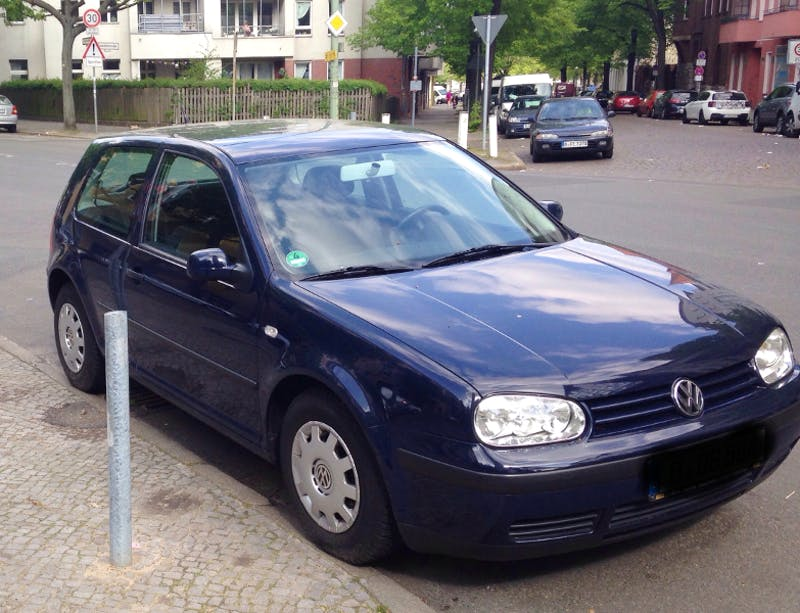 VW Golf IV, 2000, Benzin