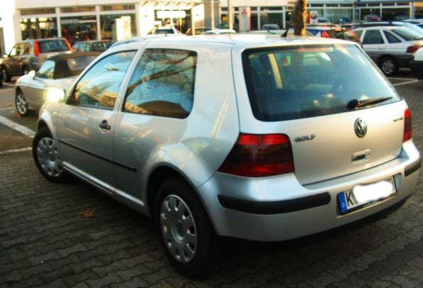 VW Golf IV 1.6 FSI mit CD-Player