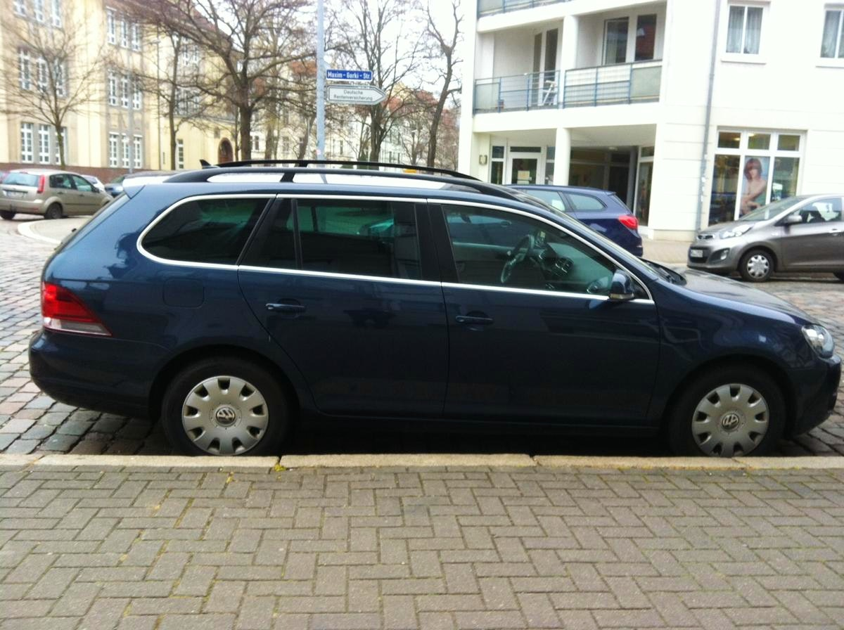 VW Golf V Variant, 2010