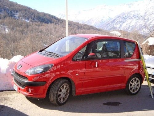 Peugeot 1007, 2007, Essence, automatique