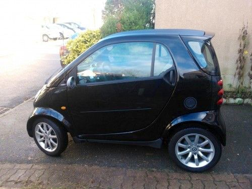 Smart forwo coupé pure 50, 2006, Essence, automatique