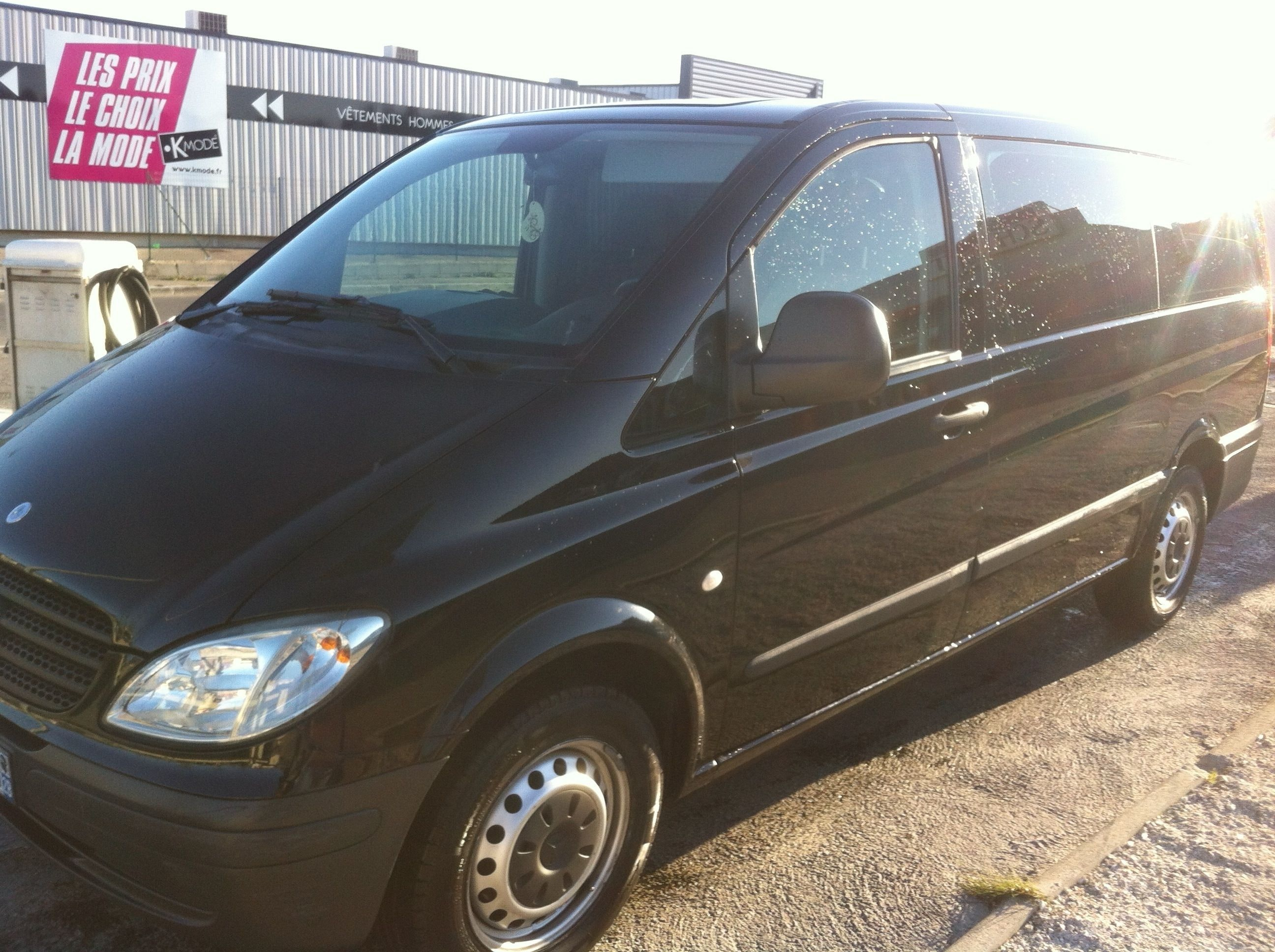Mercedes Vito 111 CDI, 2006, Diesel, 7 places