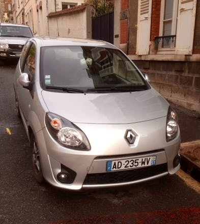 location renault twingo 2008 diesel dinard 2 passage. Black Bedroom Furniture Sets. Home Design Ideas