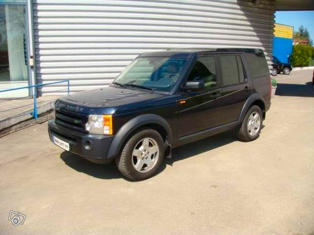 LAND ROVER DISCOVERY 3 TDV6 HSE, 2007, Diesel, automatique, 7 places