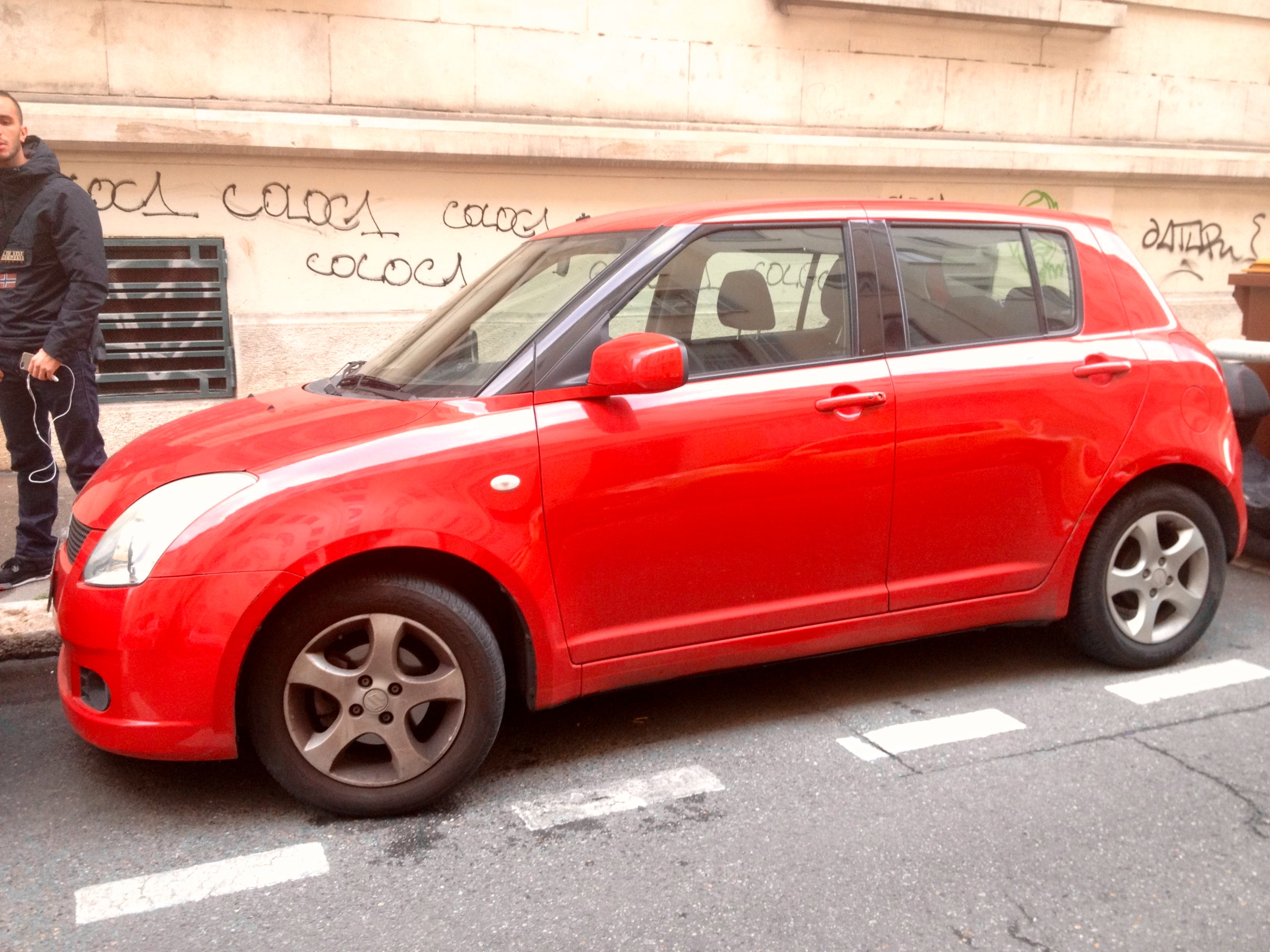 Suzuki swift, 2005, Essence - Citadine Marseille (13)