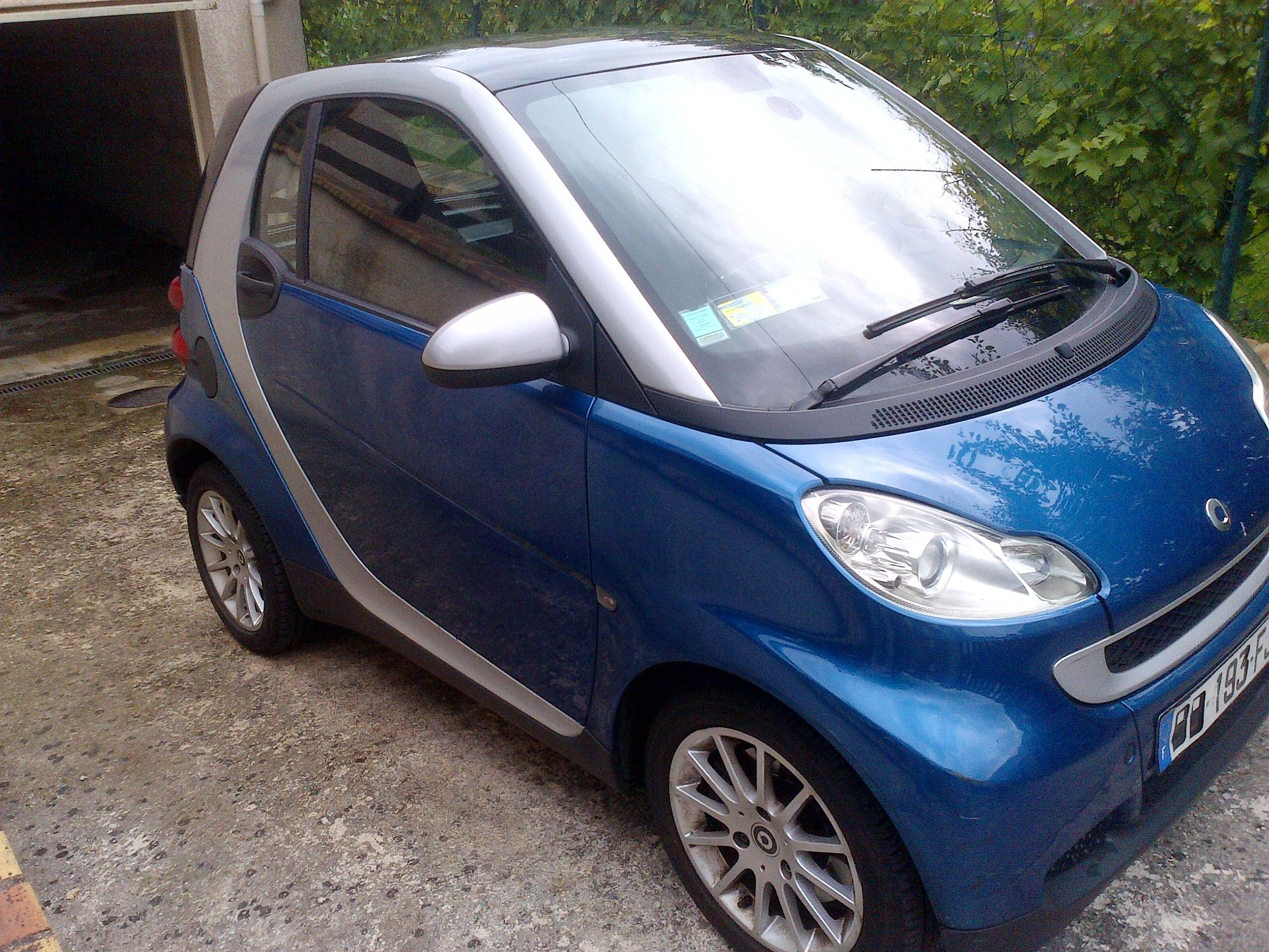 Smart Fortwo Passion, 2007, Essence, automatique - Citadine Paris (75)