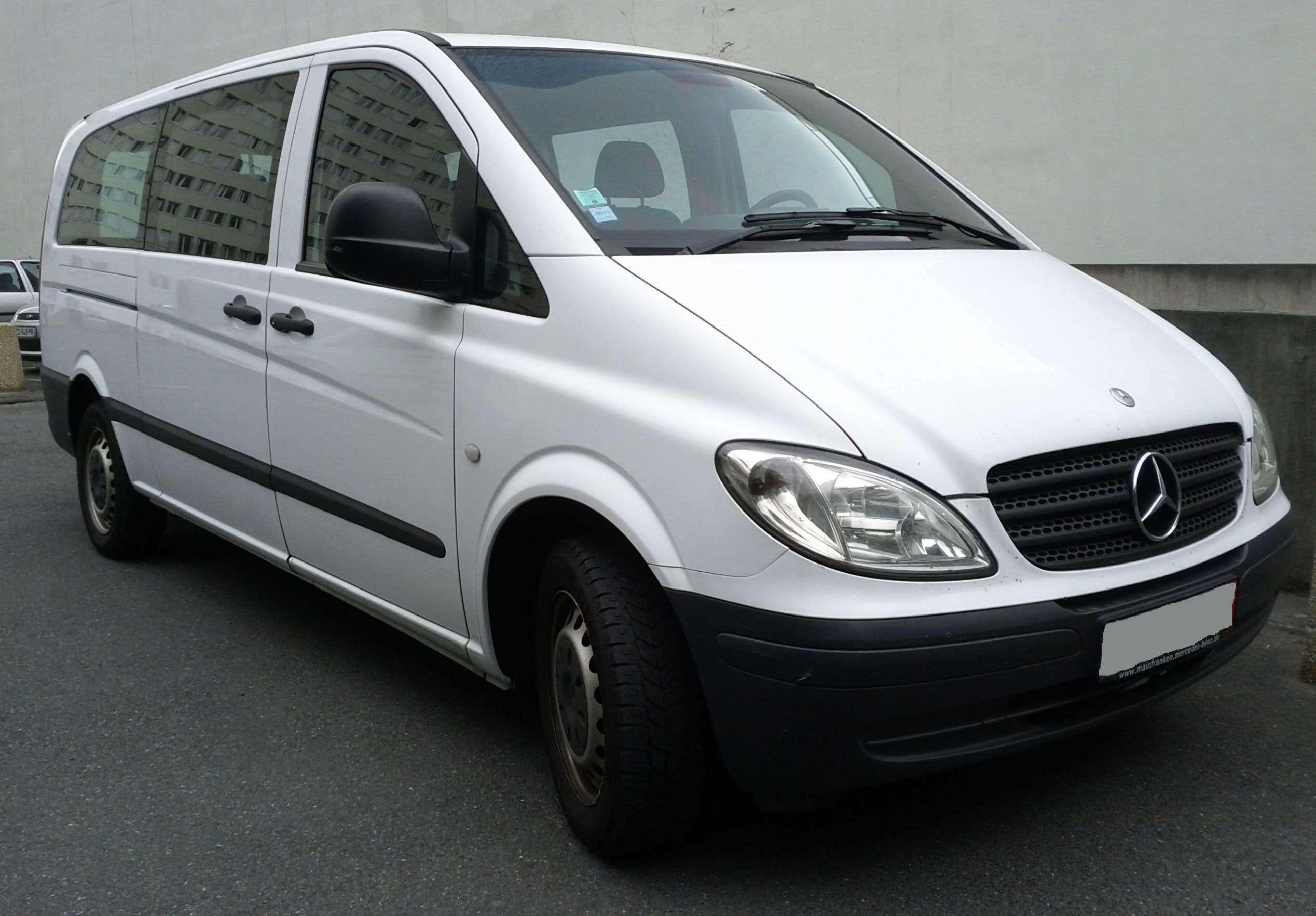 Mercedes Vito extralong - 9 places , 2006, Diesel, 9 places et plus