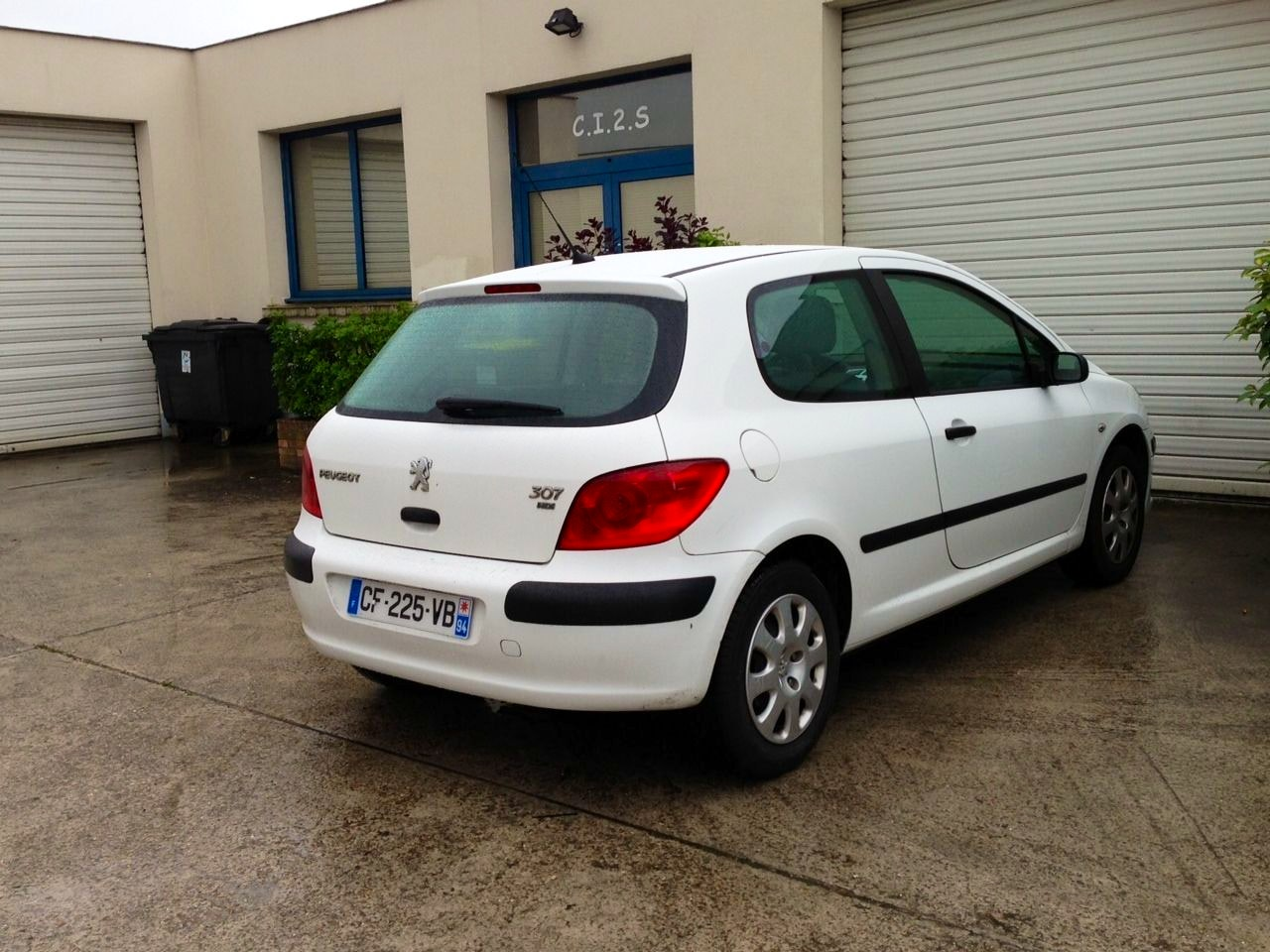 Peugeot 307 hdi pack clim 2 places, 2006