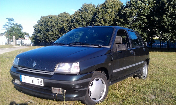location renault clio 1993 diesel poissy. Black Bedroom Furniture Sets. Home Design Ideas