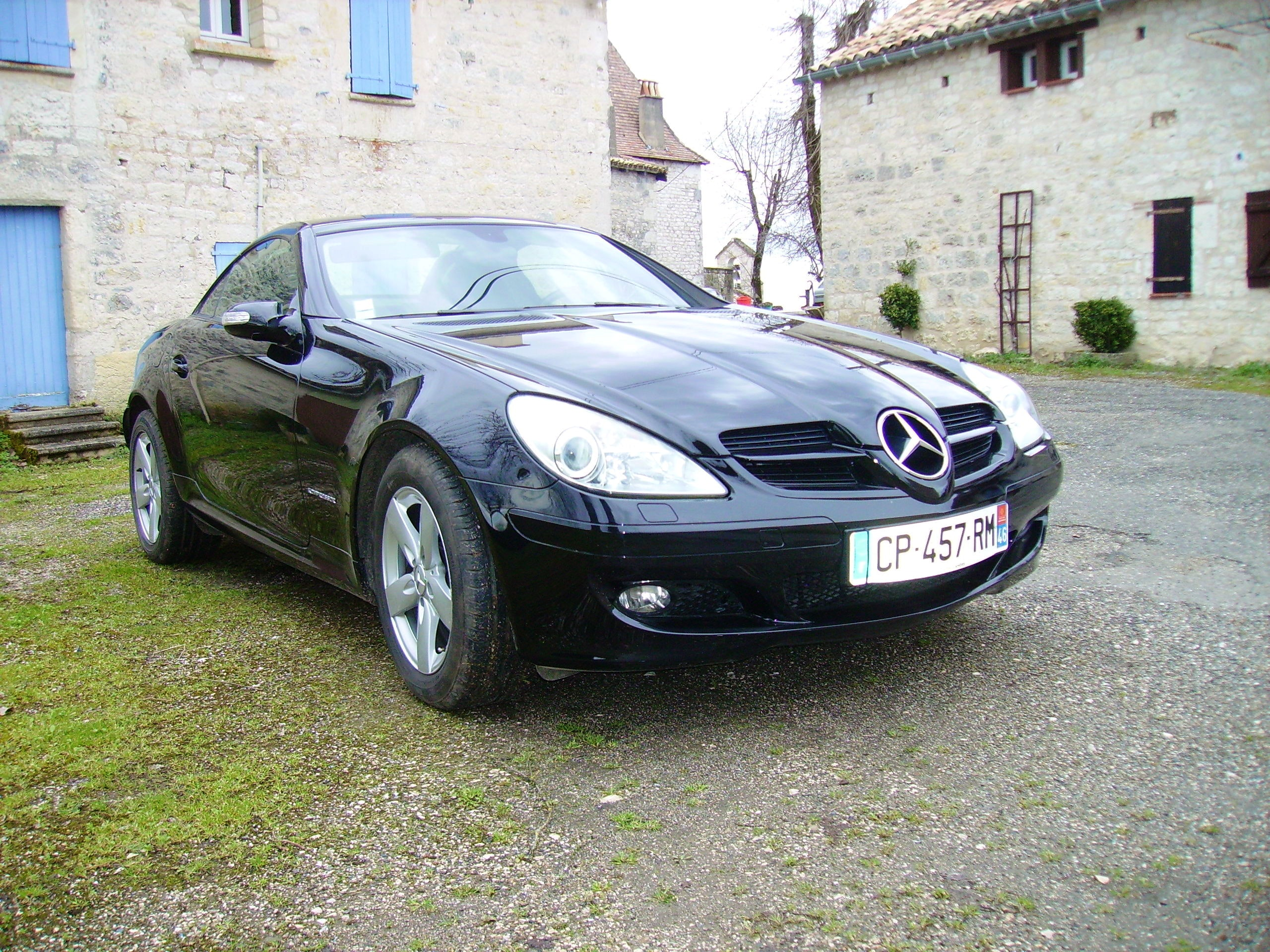 Mercedes SLK coupé cabriolet, 2005, Essence