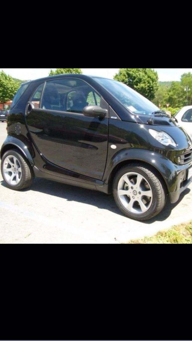 Smart Fortwo noire, 2002, Essence, automatique
