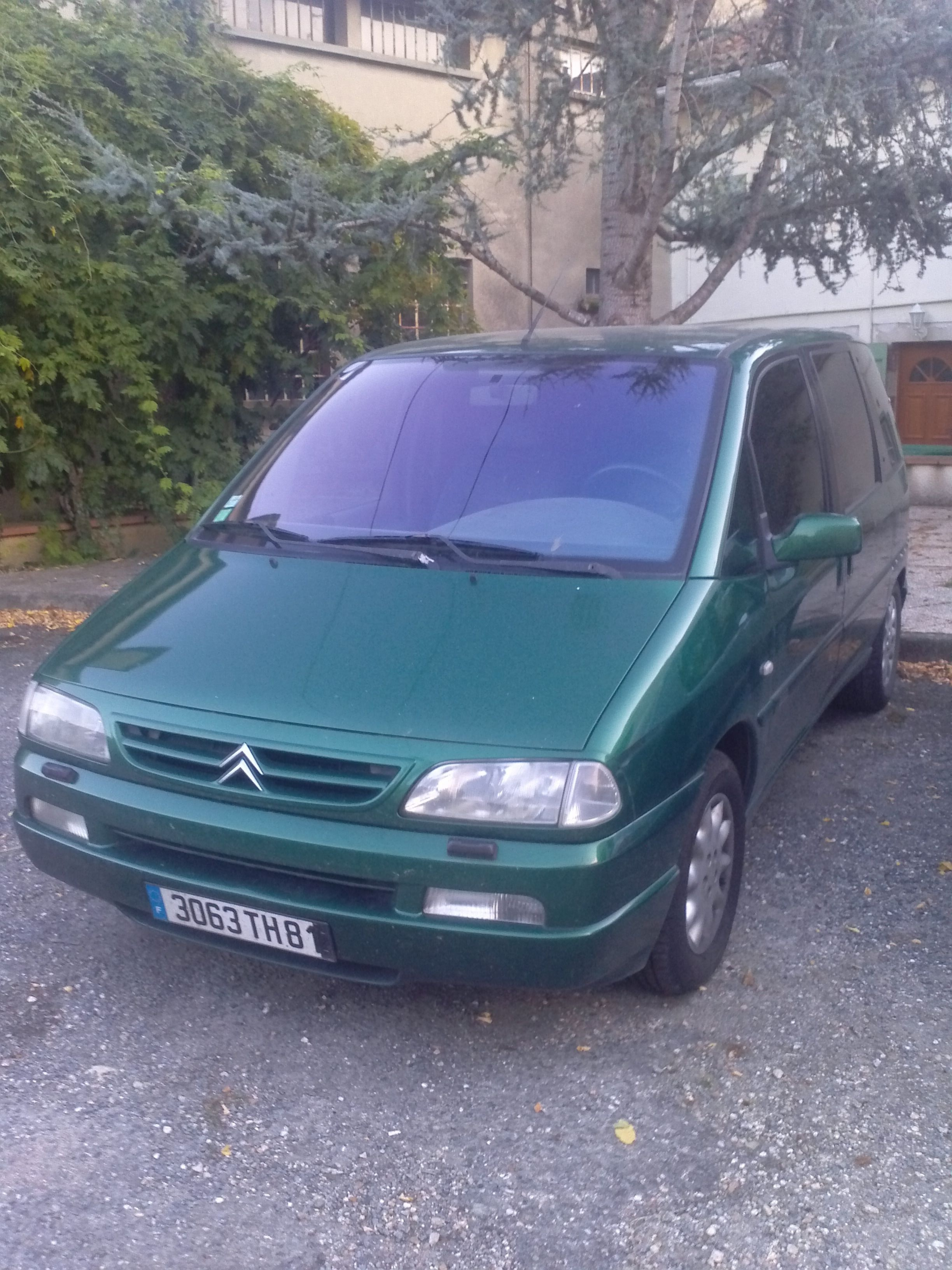 Citroen evasion 2.0 hdi, 2001, Diesel, 7 places