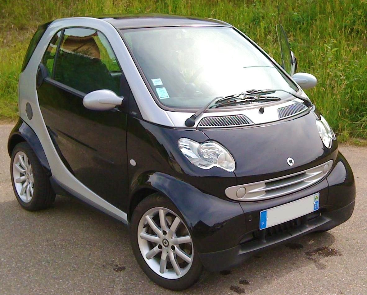 Smart Fortwo Gare Sarreguemines- GPS, 2005, Essence, automatique
