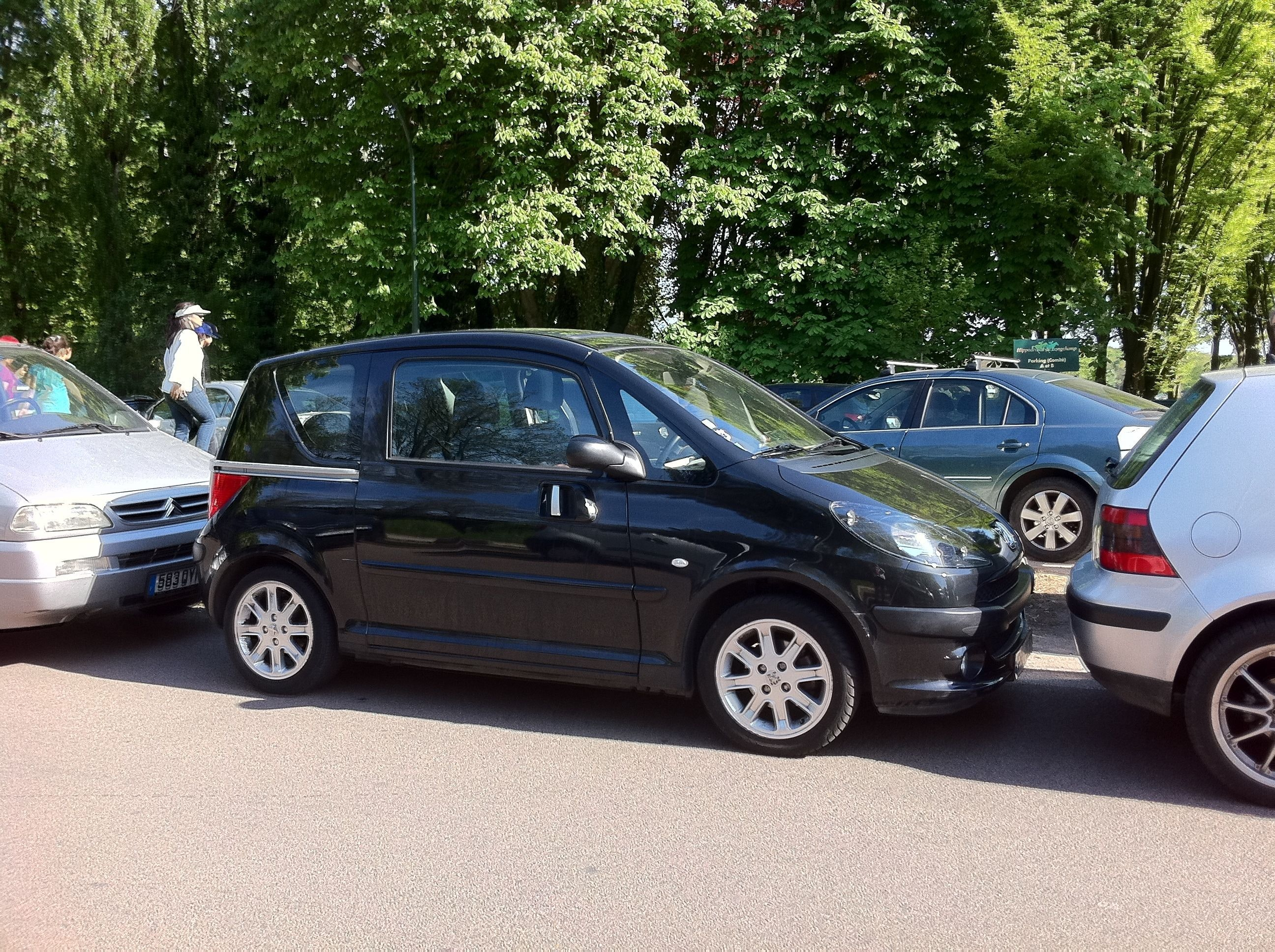 peugeot 1007, 2006, Essence, automatique