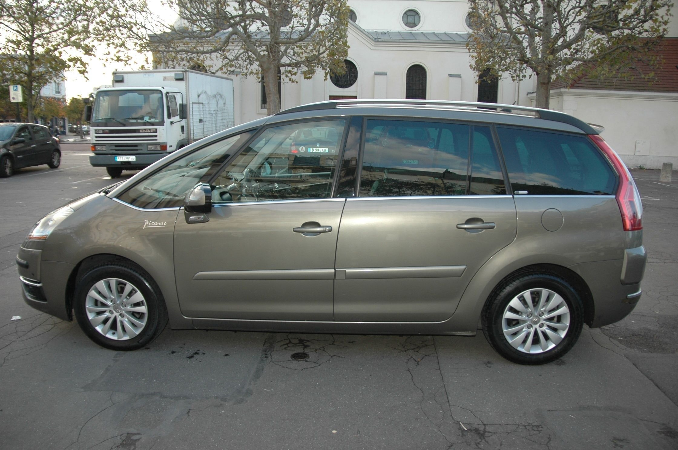Citroen Grand C4 Picasso EXCLUSIVE 110ch Cuir ttes options, 2007, Diesel, automatique, 7 places