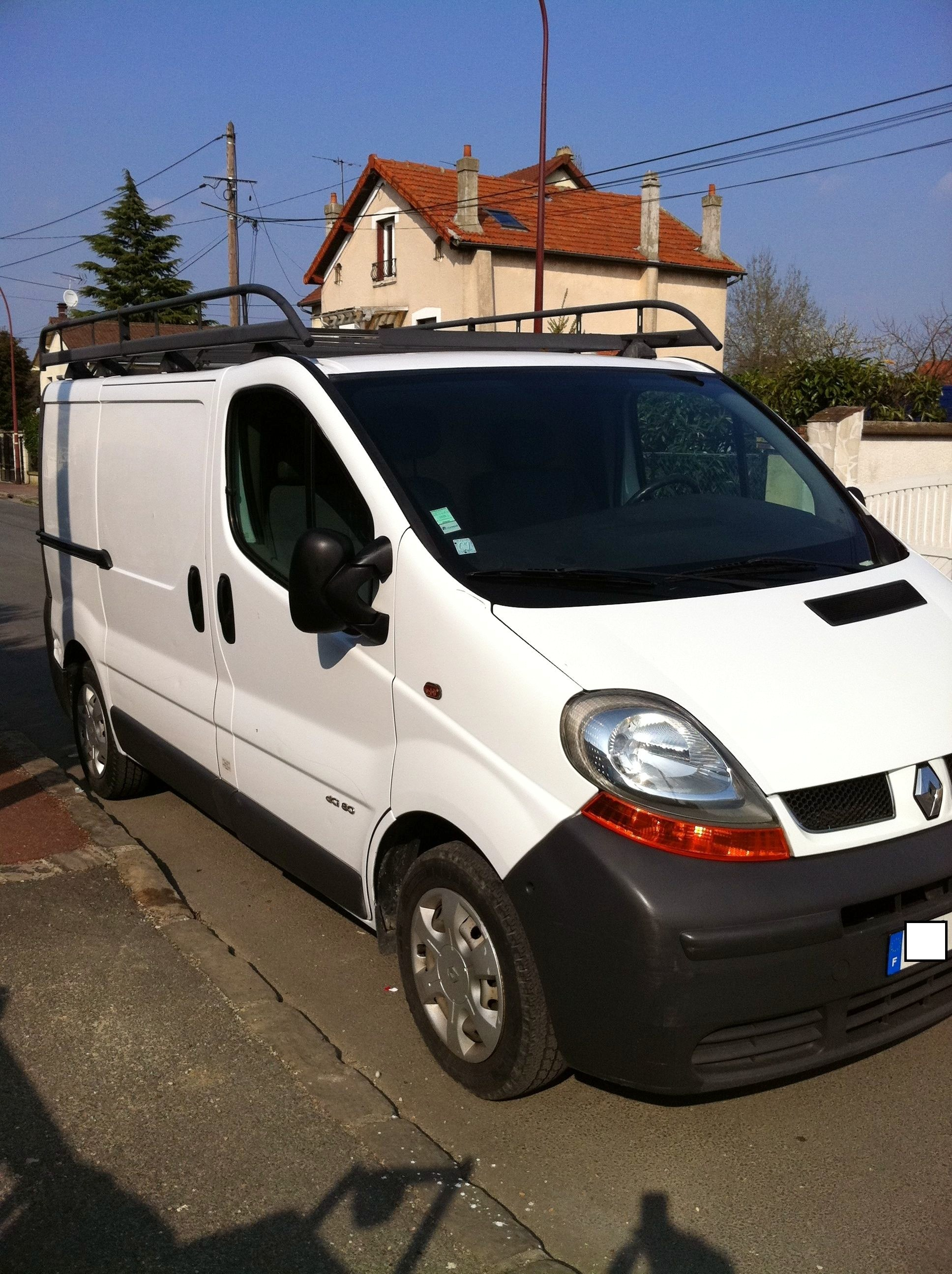 Renault trafic 82 ch DCI L1H1 fourgon, 2003, Diesel - Utilitaire Angers (49)