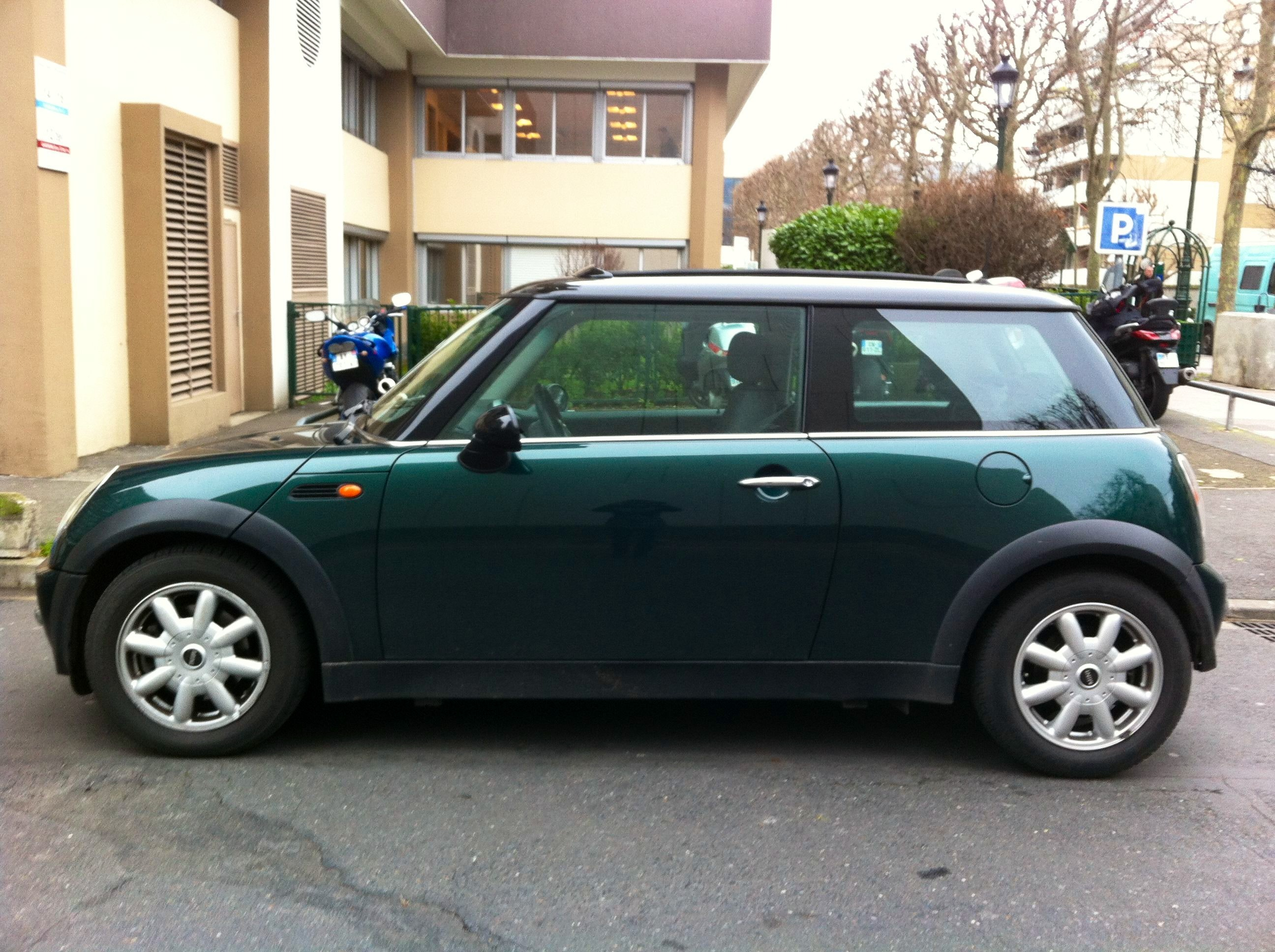 Mini Cooper, 2003, Essence, automatique