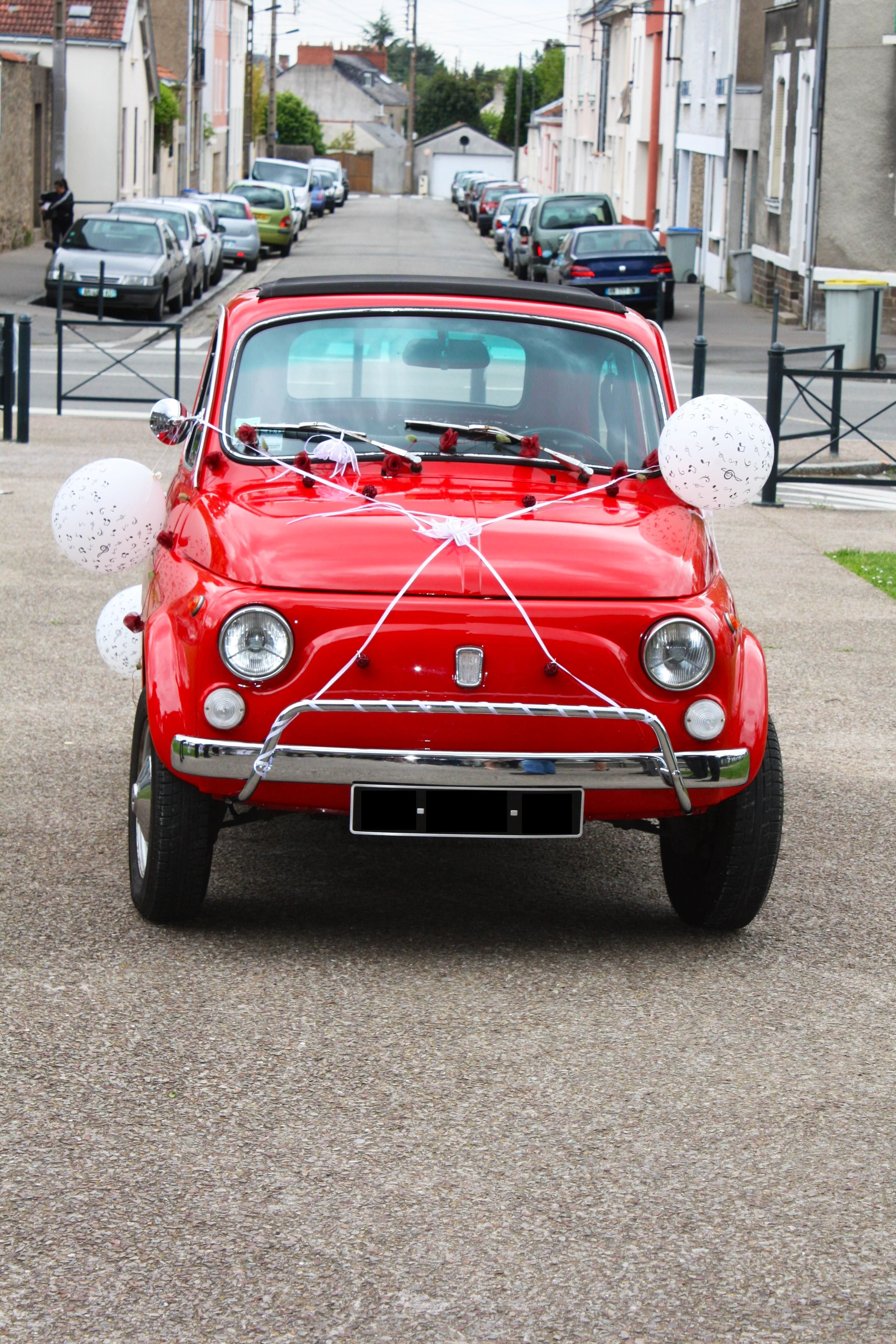 FIAT 500 Collection Rouge 1973