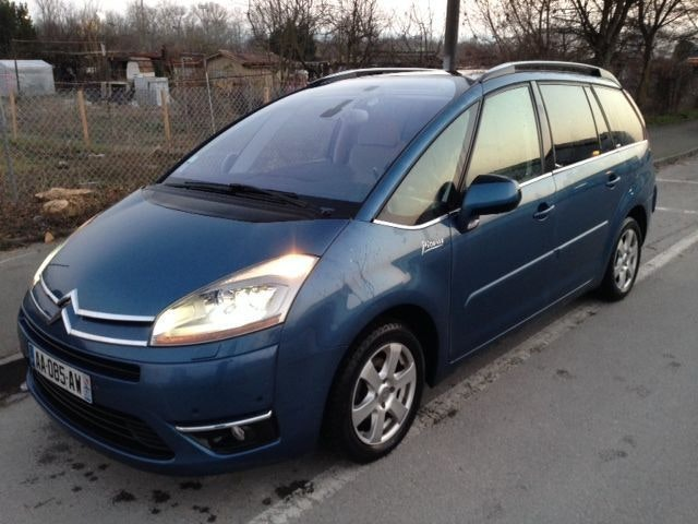 Citroen C4 Grand Picasso, 2009, Diesel, automatique, 7 places