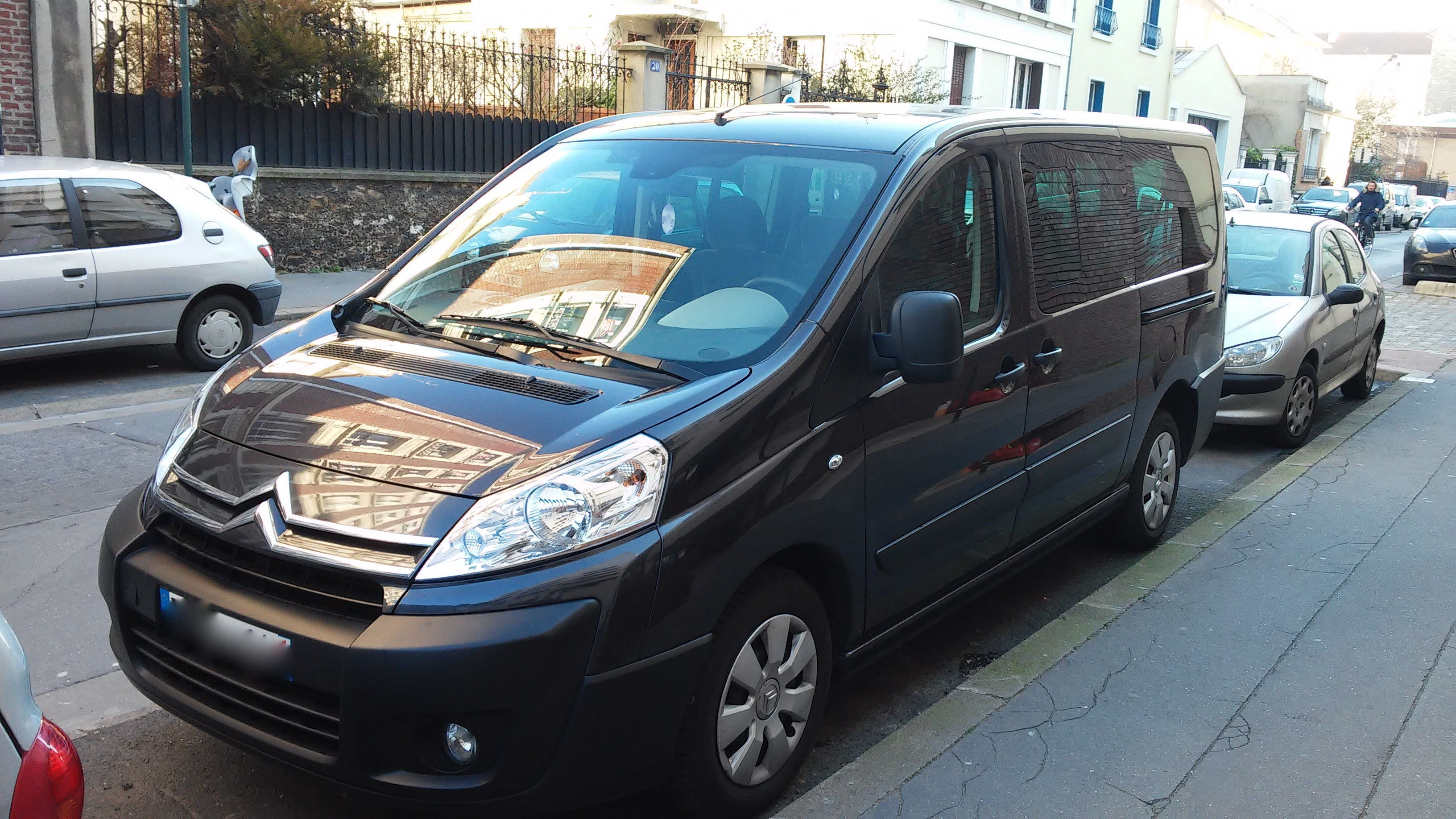 Citroen Jumpy 8 places Long clim mp3 Régulateur de vitesse, 2011, Diesel, 8 places