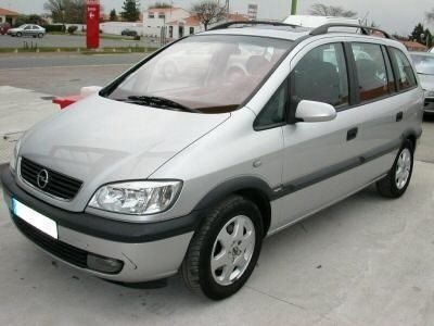 OPEL Zafira 7 places, 2004, GPL, 7 places