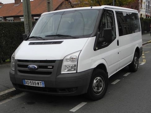 Ford transit 9 places diesel, 2007, Diesel, 9 places et plus