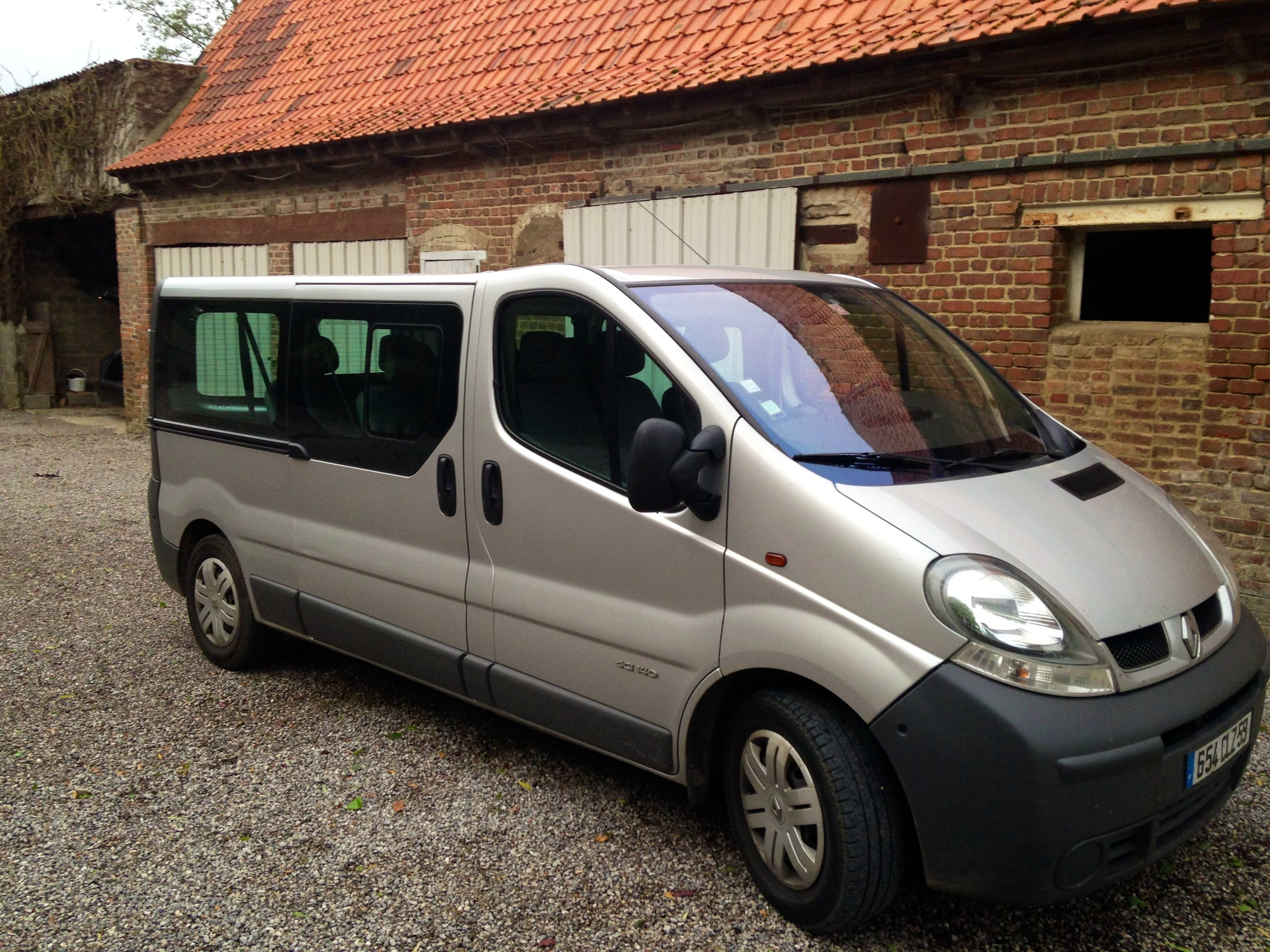 Renault trafic 9 places long, 2006, Diesel, 9 places et plus