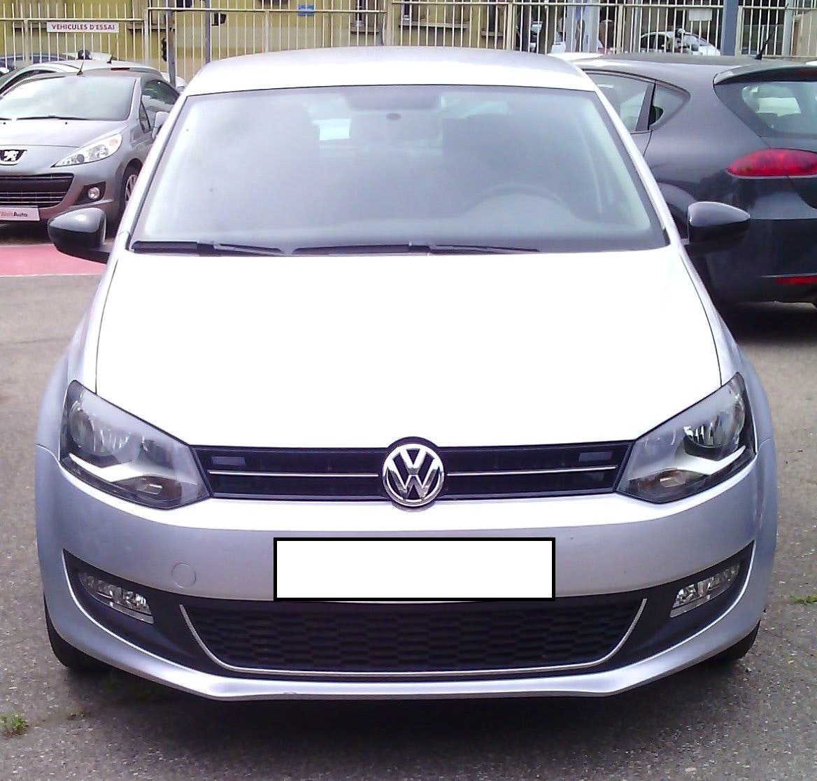 Volkswagen Polo 1.6 TDI 90 CH MATCH 5 P. Aéroport ou gare, 2013, Diesel