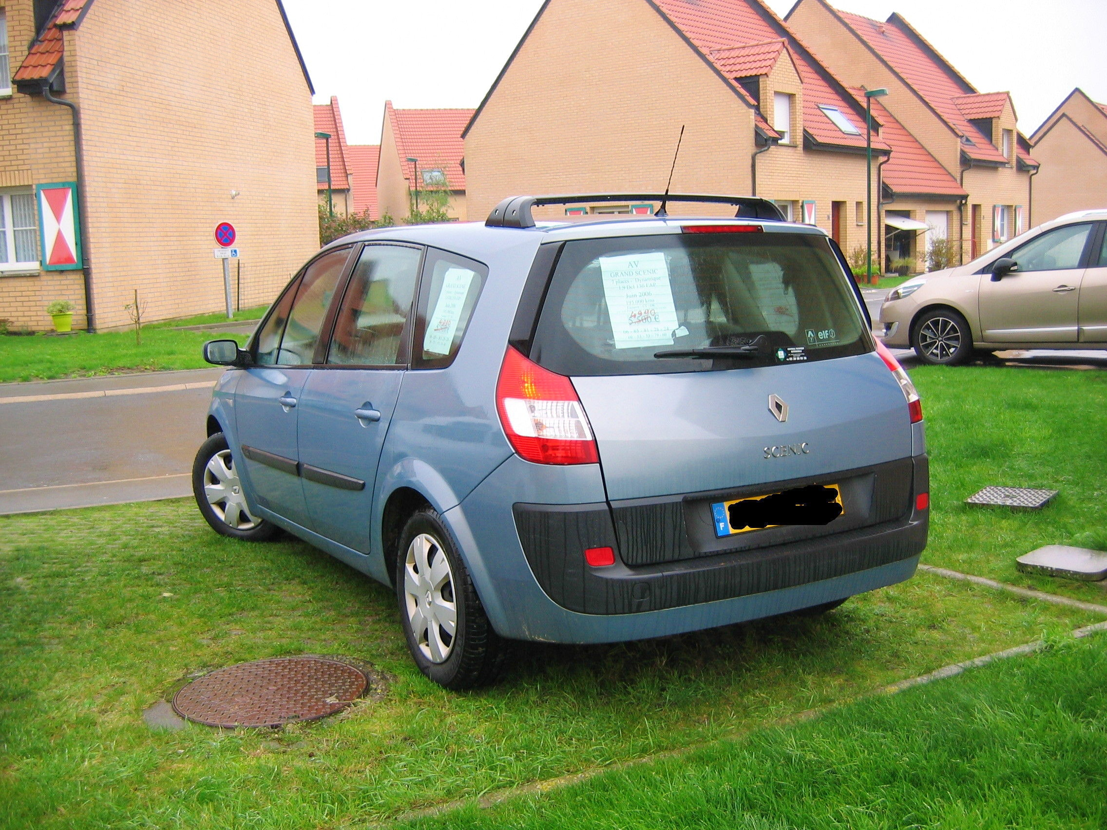 location renault grand sc 233 nic 2006 diesel 7 places 224 conflans sainte honorine 21 rue louis