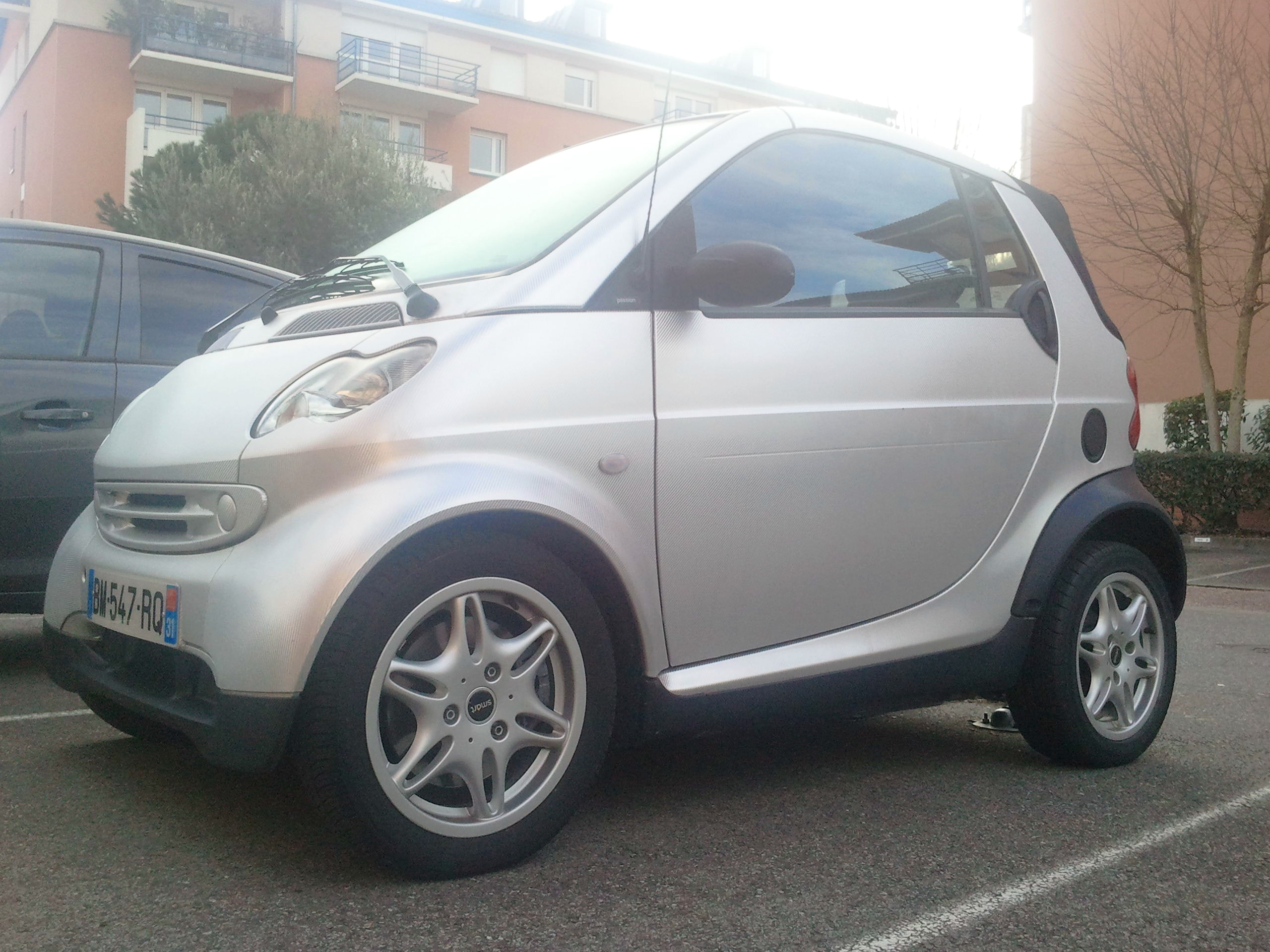 Smart Fortwo Cabriolet - Dispo à l'Aéroport, 2003, Essence, automatique - Cabriolet Toulouse (31)