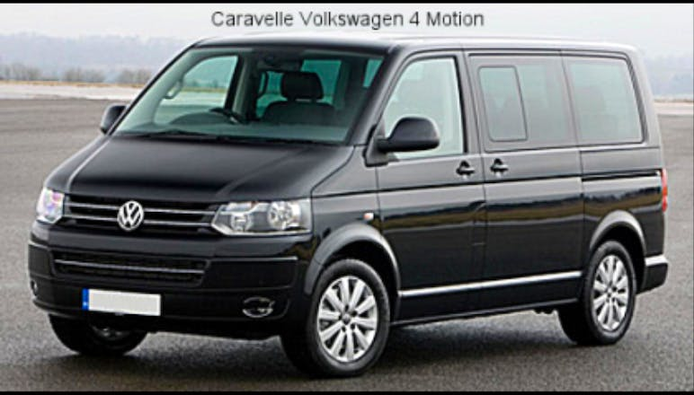 location minibus volkswagen caravelle 2010 diesel 9 places bourg saint maurice bourg saint. Black Bedroom Furniture Sets. Home Design Ideas