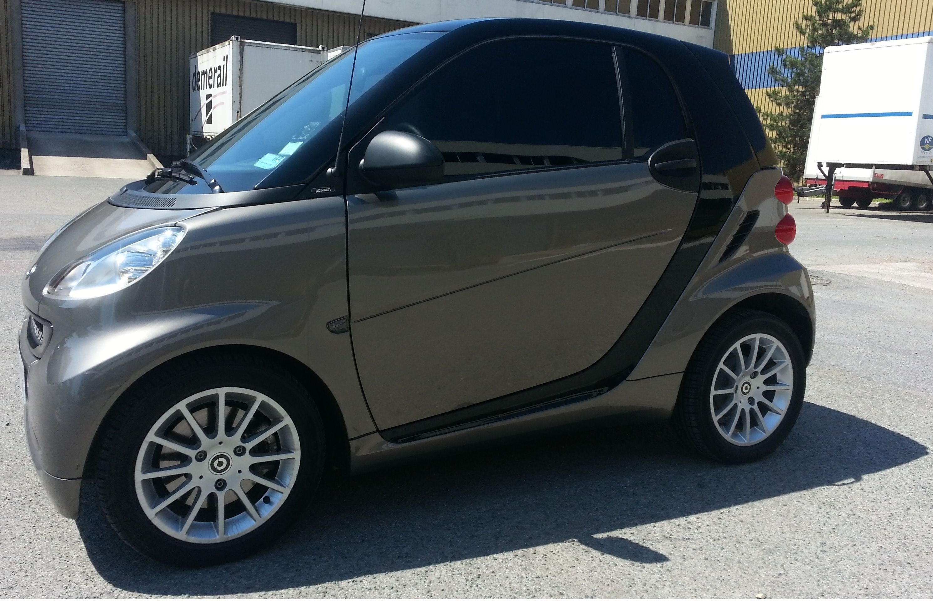 Smart ForTwo Passion - GPS Bluetooth - Boite Automatique, 2011, Essence, automatique