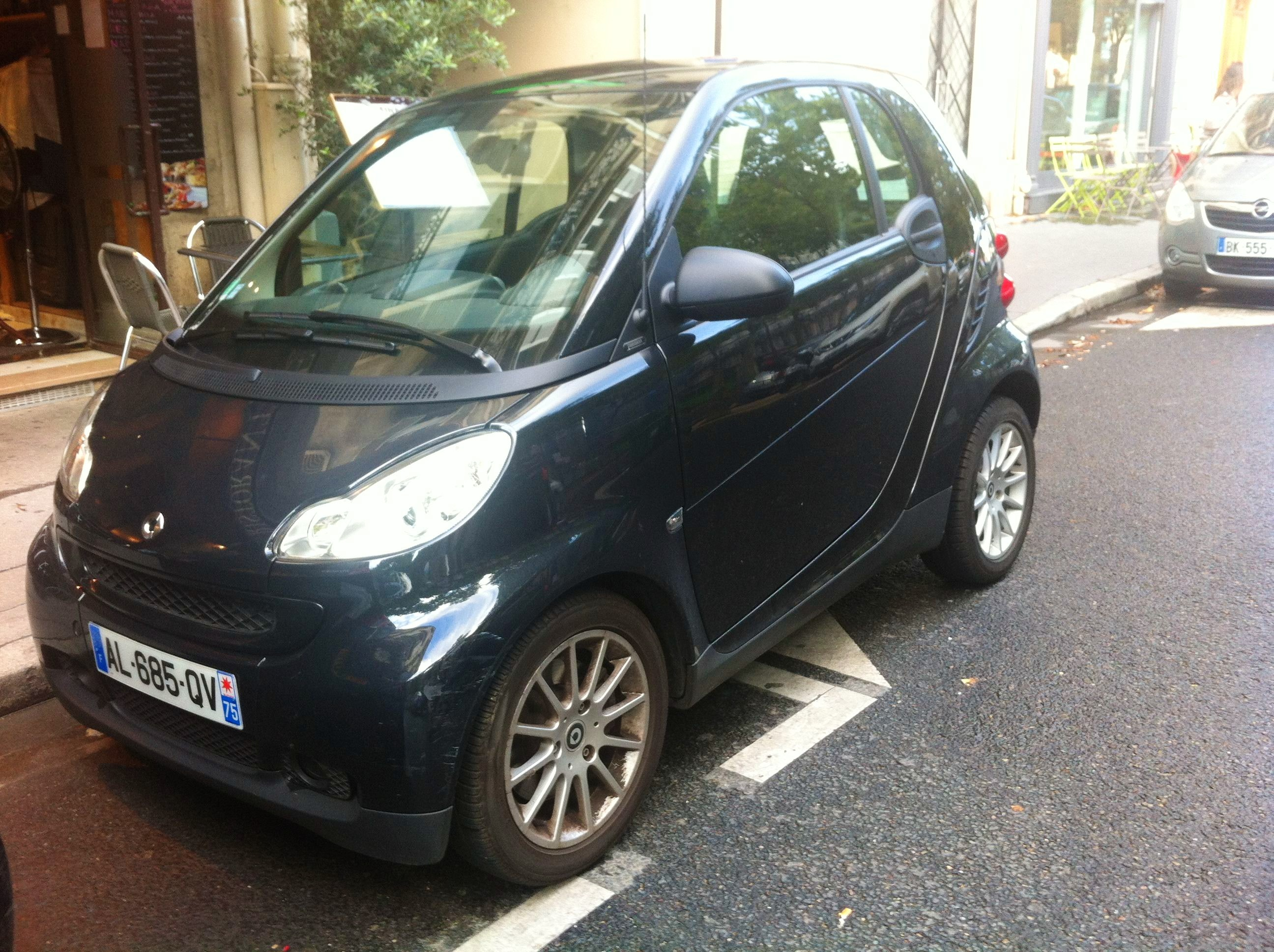 Smart Fortwo 81ch GPS/Cuir, 2010, Essence, automatique