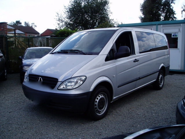 Mercedes Vito 9 places Long clim CD , 2008, Diesel, 9 places et plus