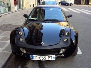 location smart roadster 2006 automatique paris. Black Bedroom Furniture Sets. Home Design Ideas