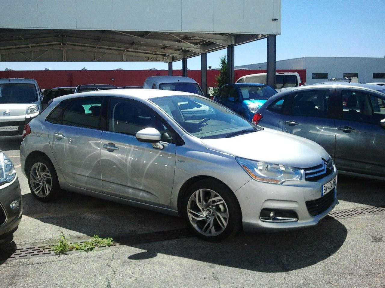 location citroen c4 2011 diesel automatique  u00e0 montpellier