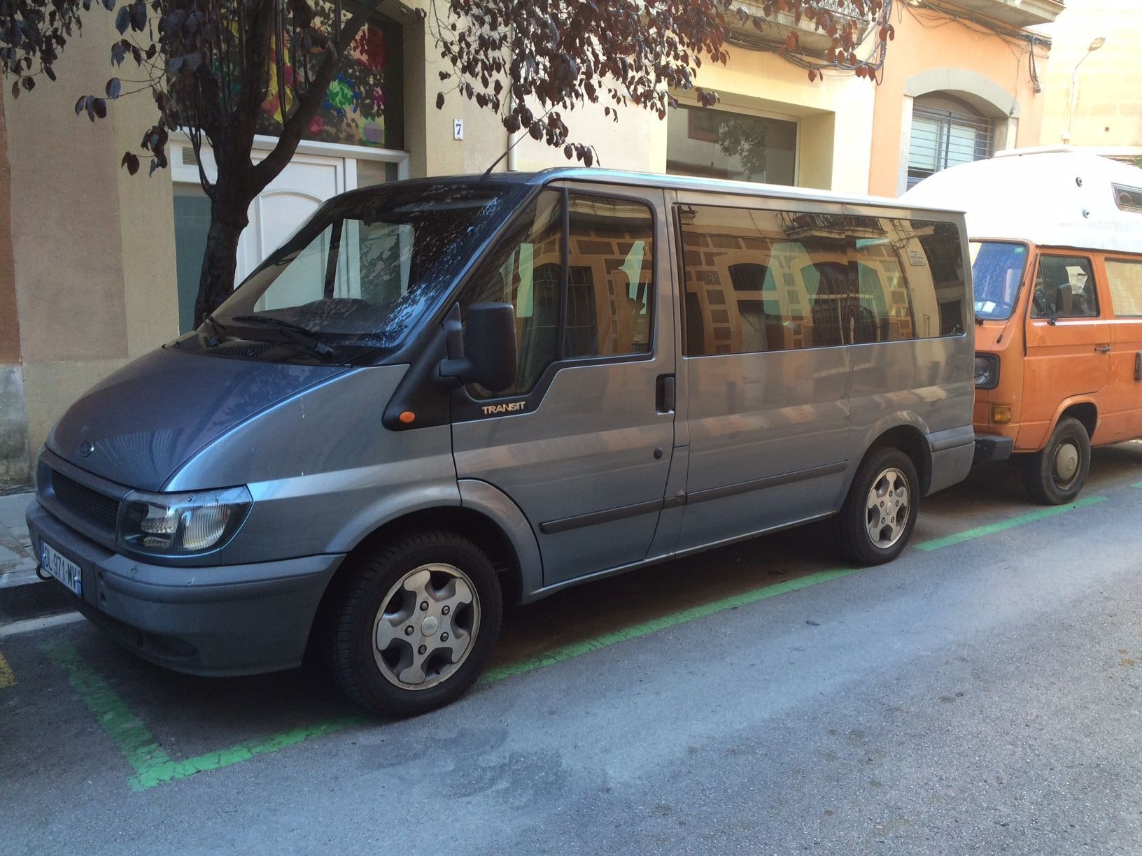 Ford Transit, 2001, Diesel, 7 places