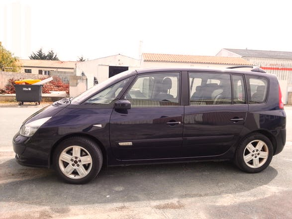 location renault espace 2004 diesel automatique 7 places. Black Bedroom Furniture Sets. Home Design Ideas