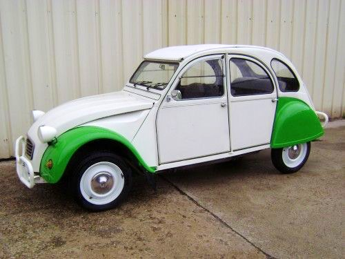 Citroen 2CV6, 1987, Essence - Collection Mettray (37)
