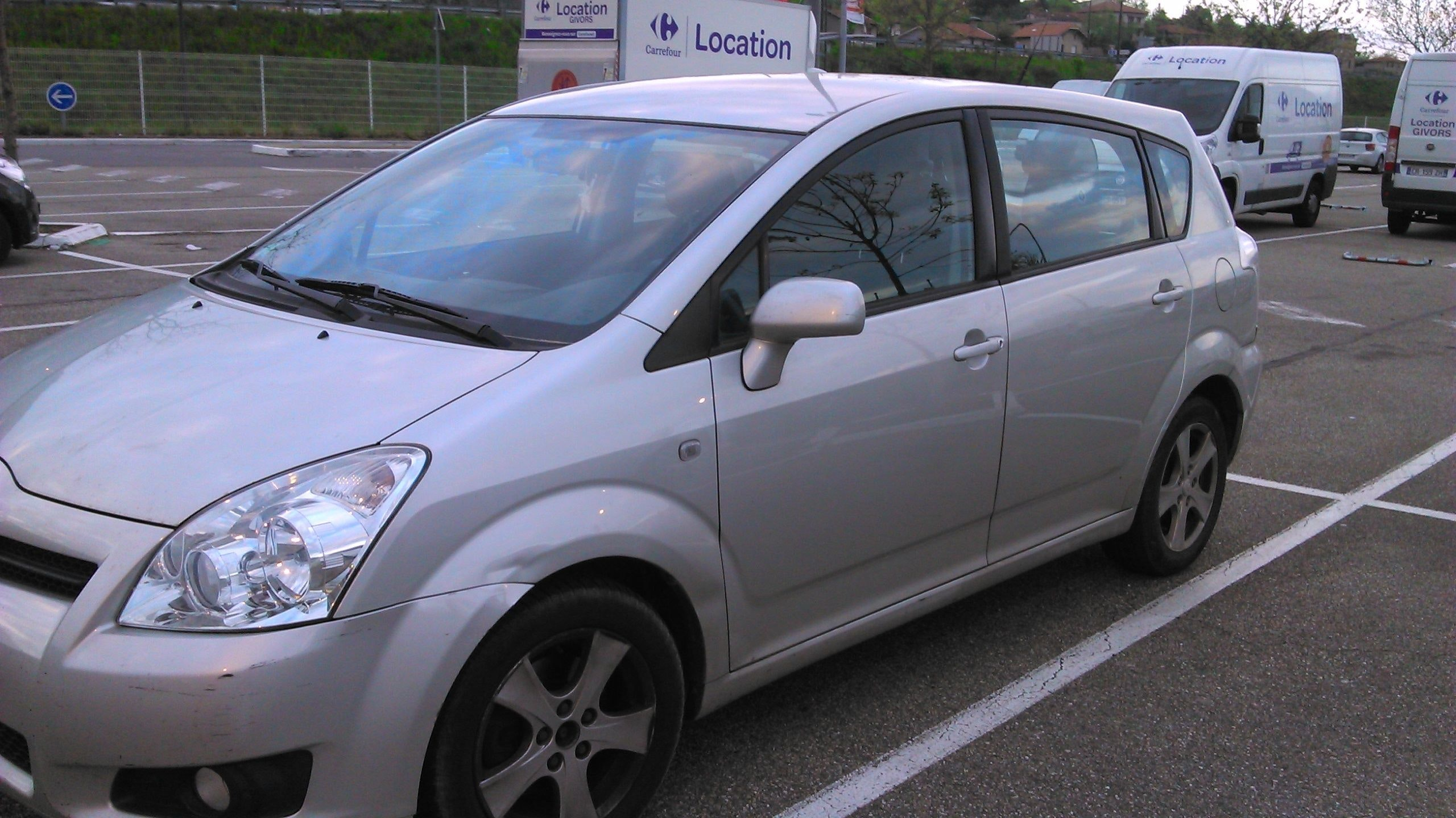 TOYOTA corolla verso, 2008, Diesel, 7 places