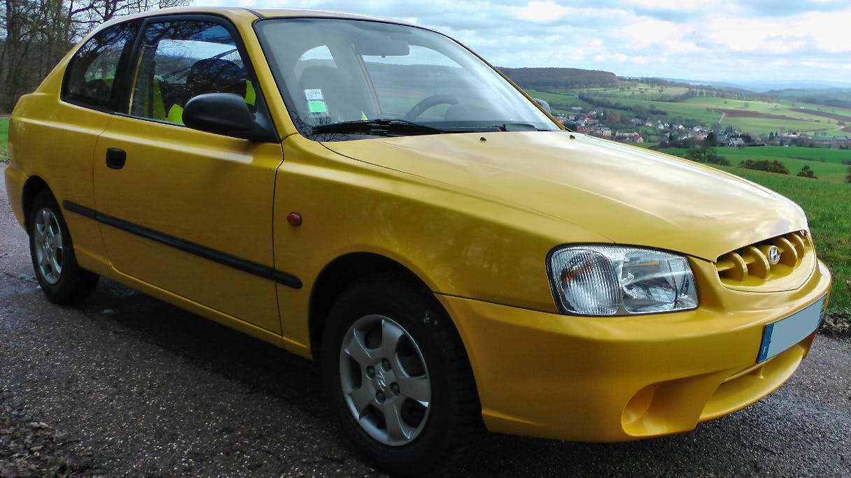 Hyundai Accent 2, 2002, Essence