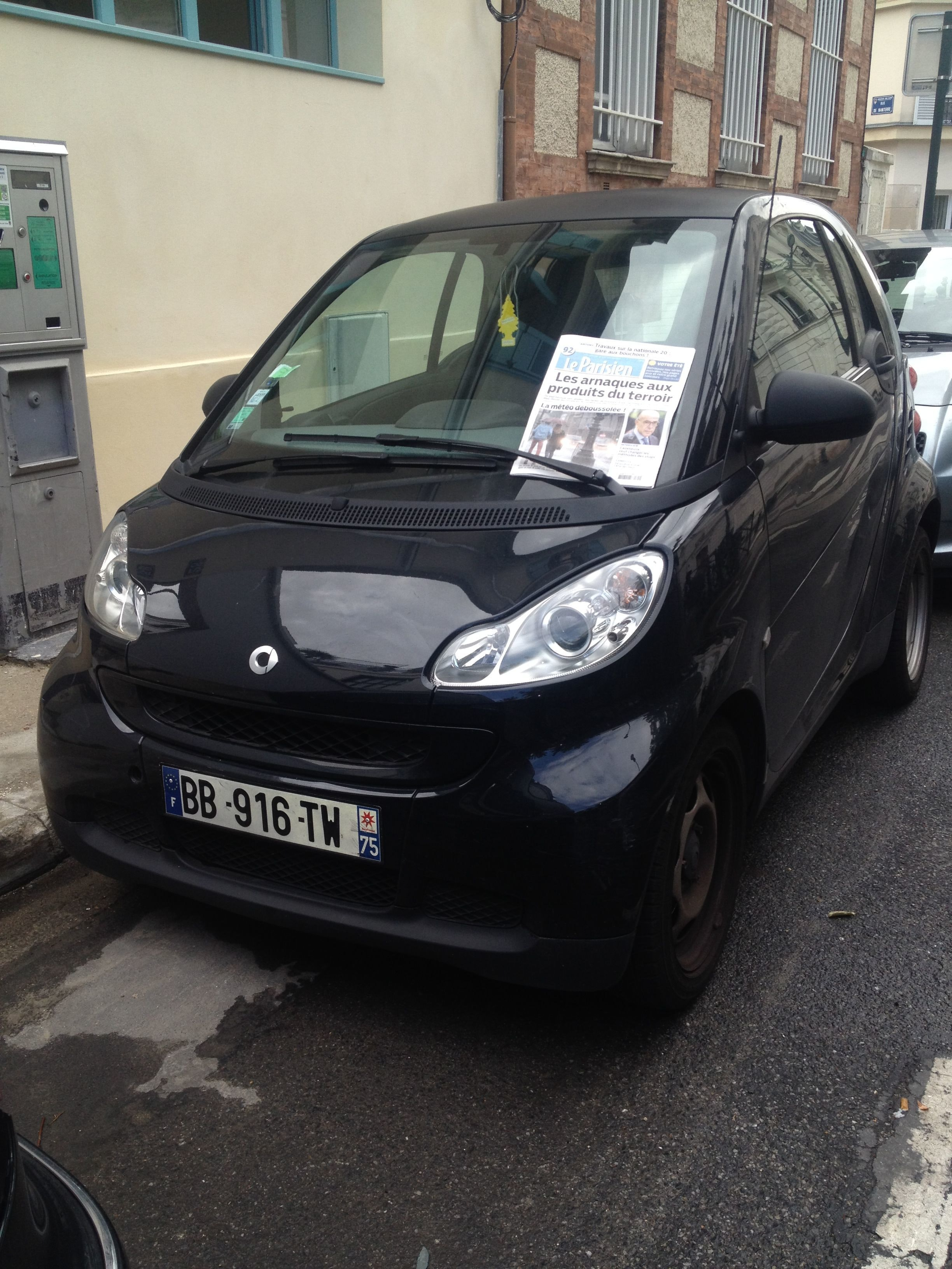 SMART Smart Fortwo, 2009, Essence, automatique