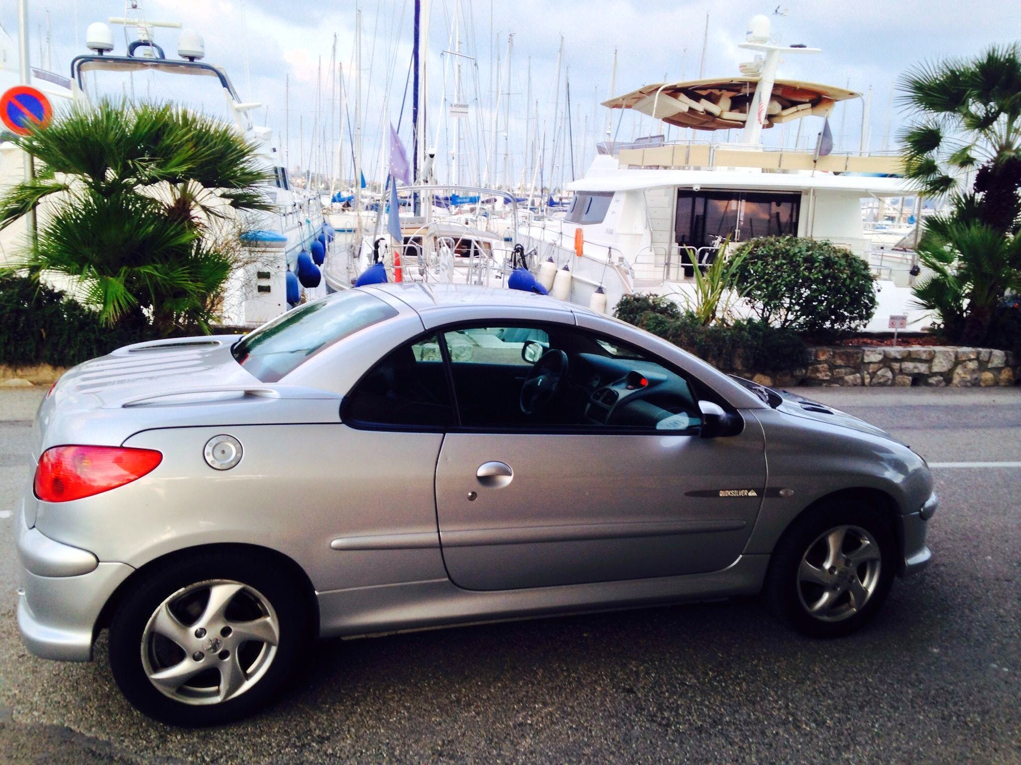 location peugeot 206 cc 2004  u00e0 vallauris  quai napol u00e9on