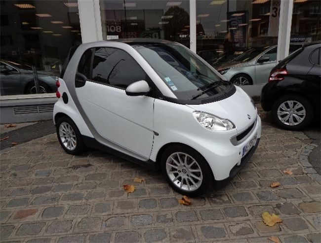 Smart Fortwo Passion 71cv Cuir/GPS/Clim, 2010, Essence, automatique