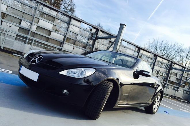 Mercedes SLK 200 Kompressor (163 cv), 2004, Essence