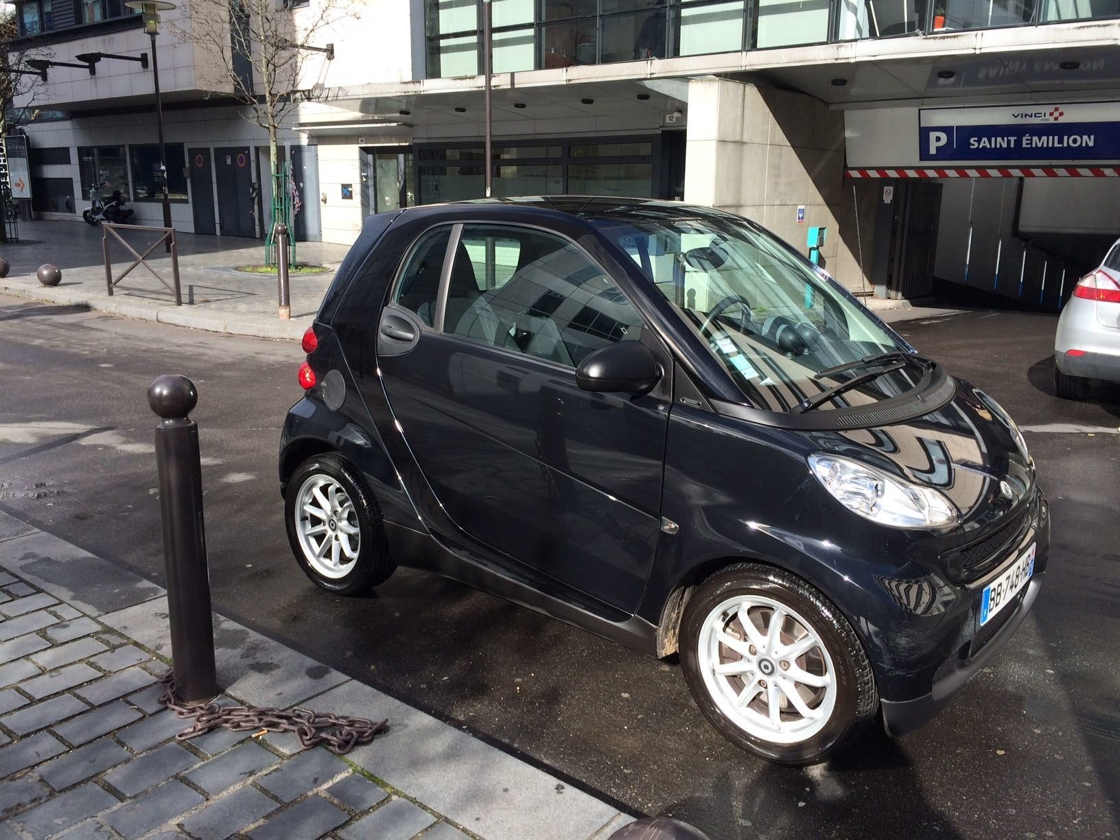 SMART Smart fortwo MHD passion 52kW, 2009, Essence, automatique