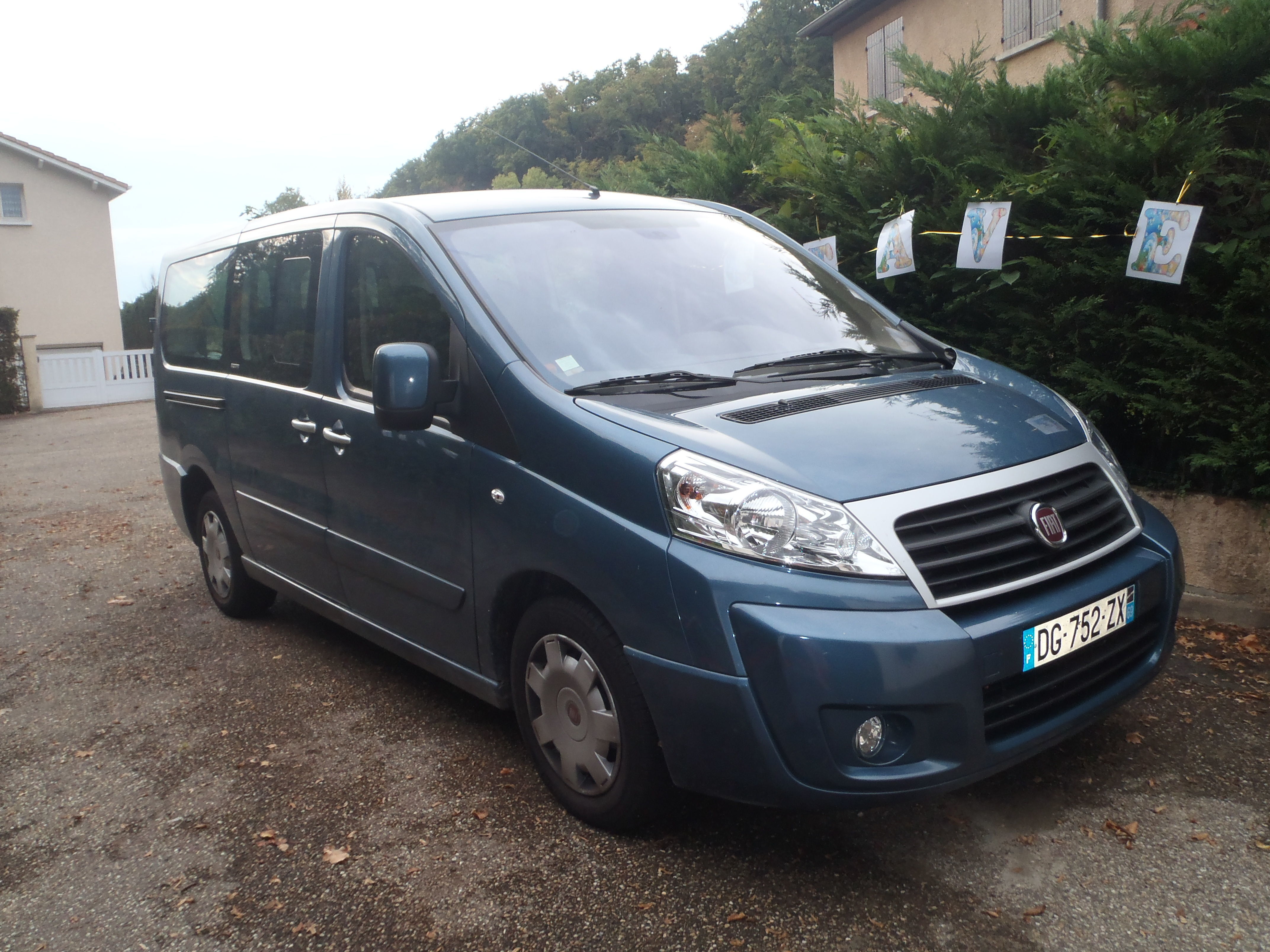 Fiat Scudo Panorama, 2014, Diesel, 9 places et plus