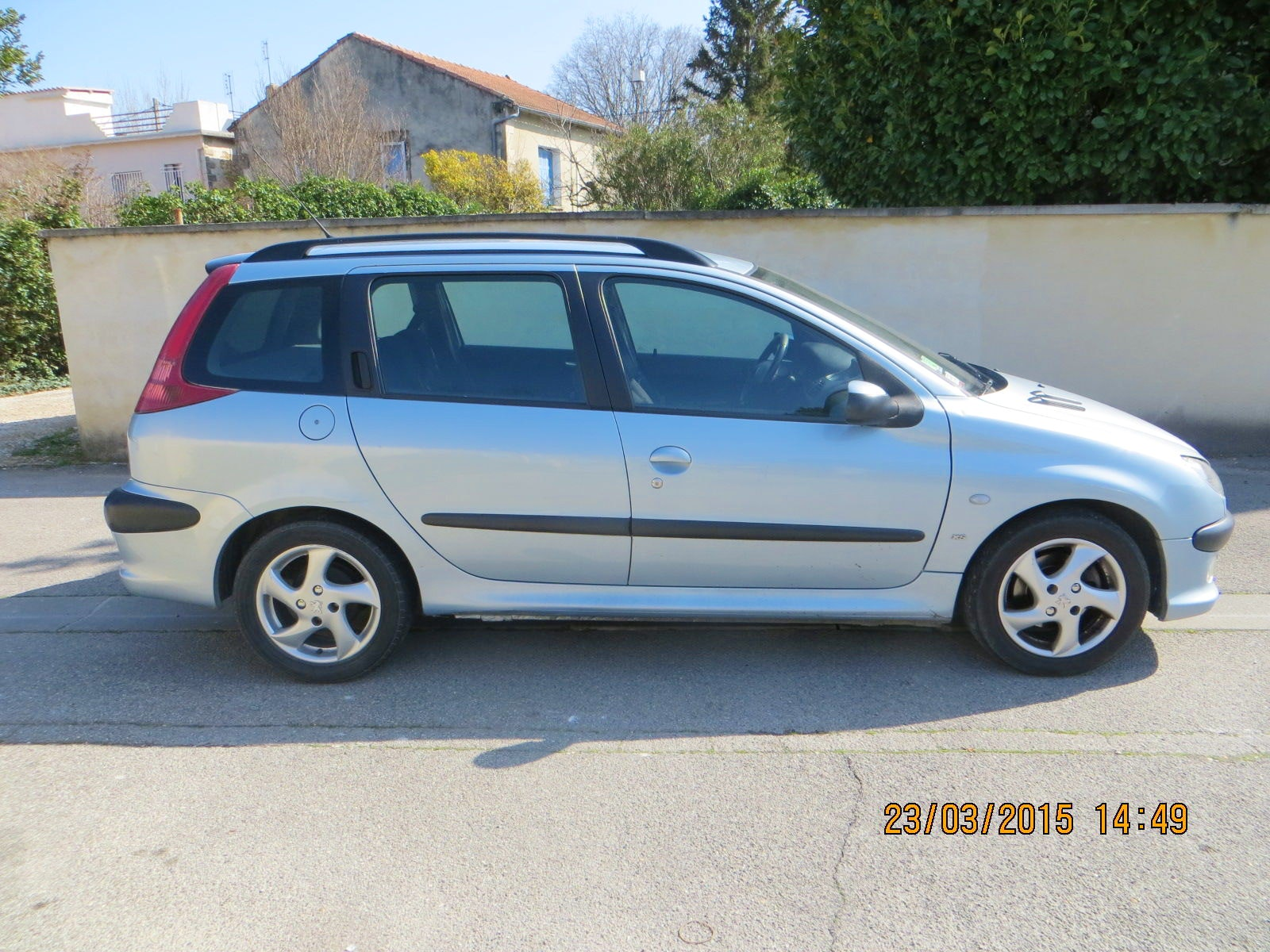 Peugeot 206 SW XS HDI ( gare TGV possible) break compact, 2002, Diesel