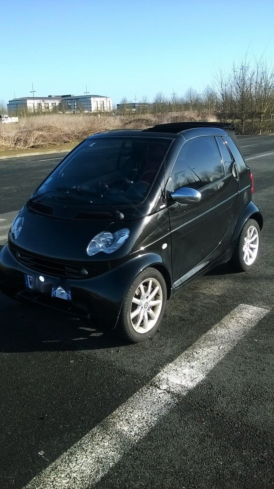 smart fortwo-cab, 2001, Diesel